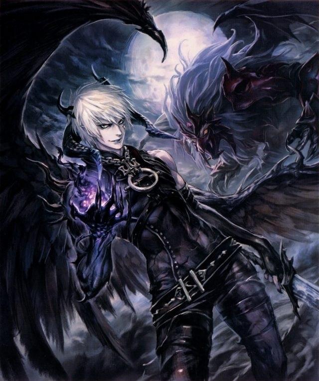 картинки демонов аниме парней 022