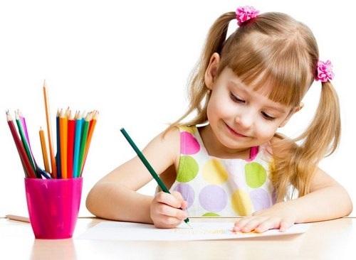 картинки дети рисуют для детей 002