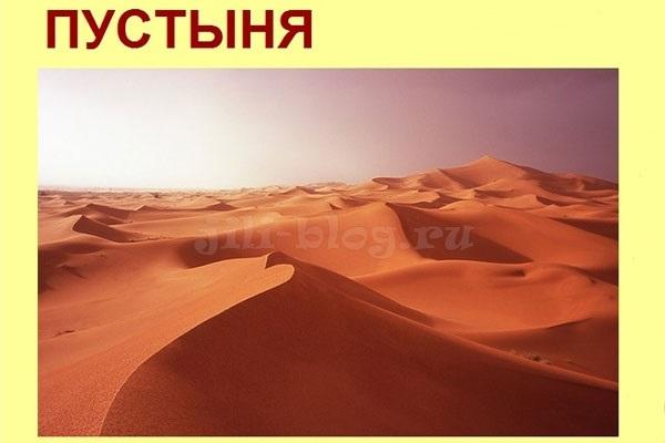 картинки для детей пустыня 004