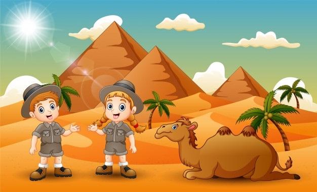 картинки для детей пустыня 011