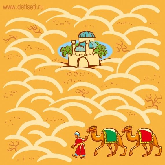 картинки для детей пустыня 020