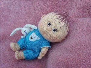 классные вязаные игрушки и куклы 009