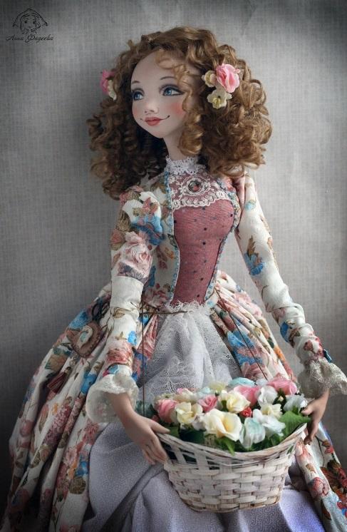 красивые куклы ручной работы фото 001