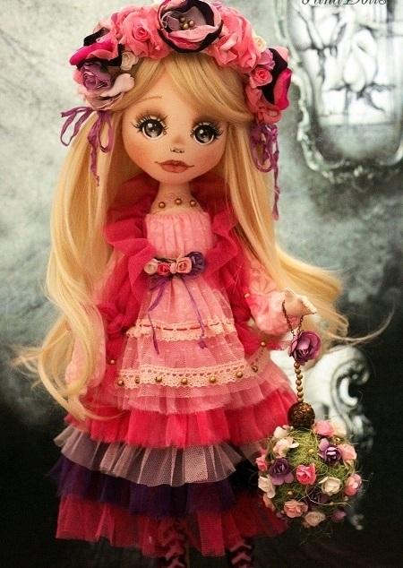 красивые куклы ручной работы фото 005