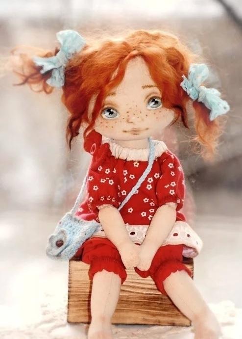 красивые куклы ручной работы фото 011