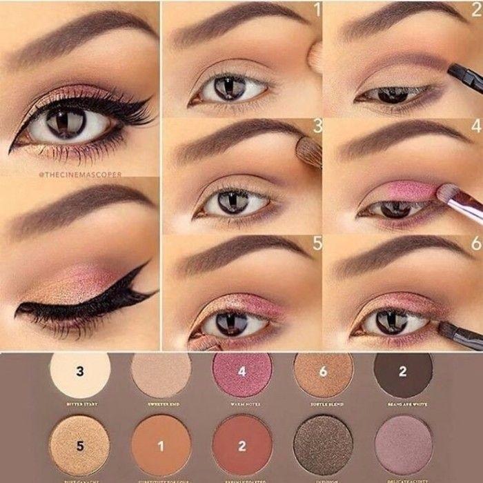 красивые примеры макияжи фото 010