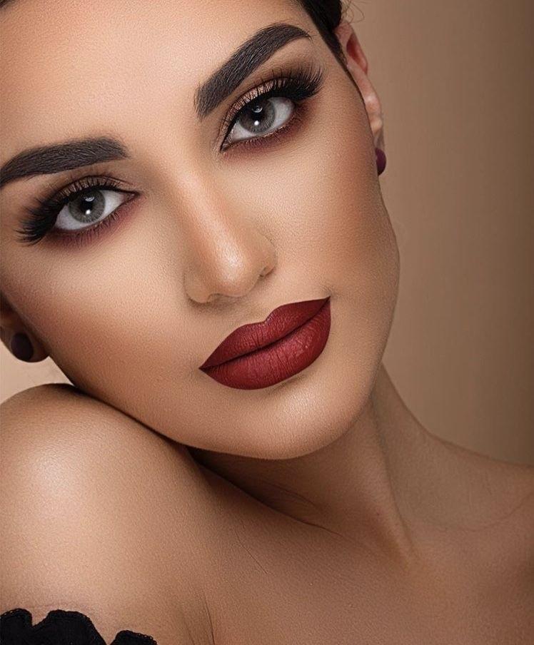 красивые примеры макияжи фото 011