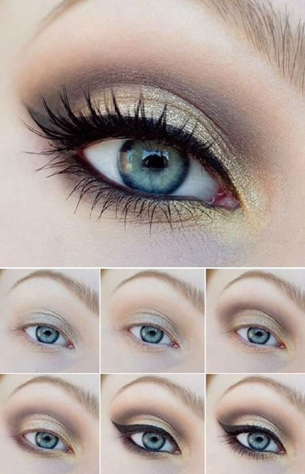 красивые примеры макияжи фото 013