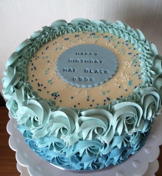 кремовый торт мужчине 006