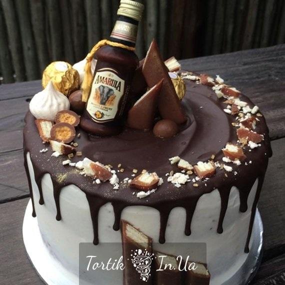 кремовый торт мужчине 009
