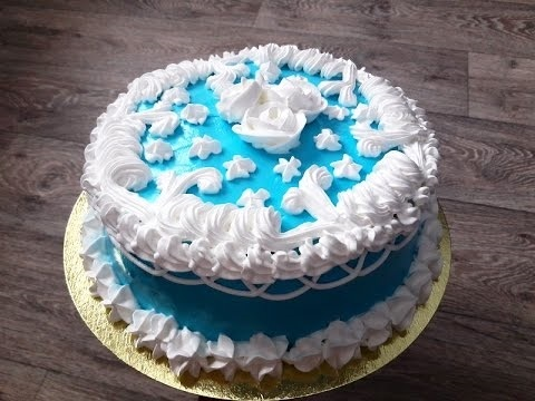 кремовый торт мужчине 014