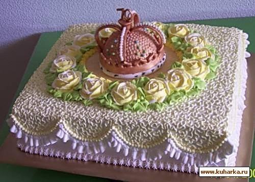 кремовый торт мужчине 015