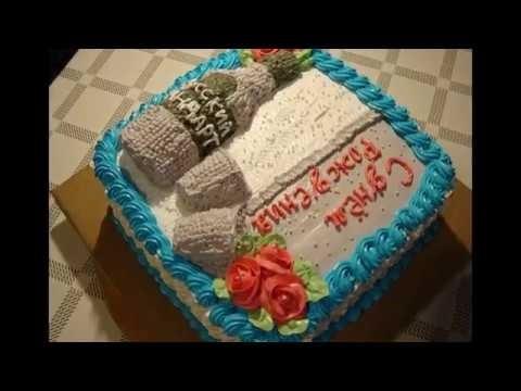 кремовый торт мужчине 020