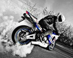 крутые рисунки мотоциклов 015