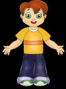 мальчик на прозрачном фоне картинка для детей 018