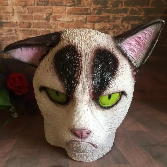 маска кошки для детей картинки, фото 021