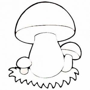 нарисованные цветные грибы картинки для детей 023