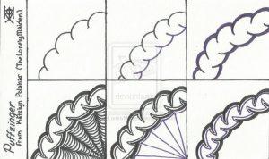 нарисовать узоры на бумаге 015