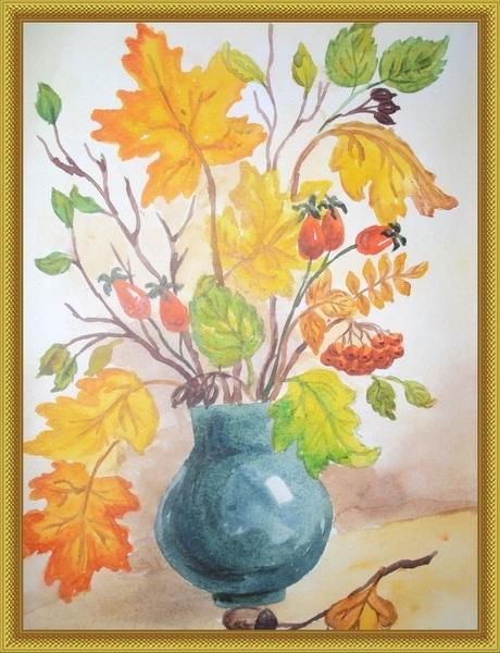 Осенний букет картинки для детей