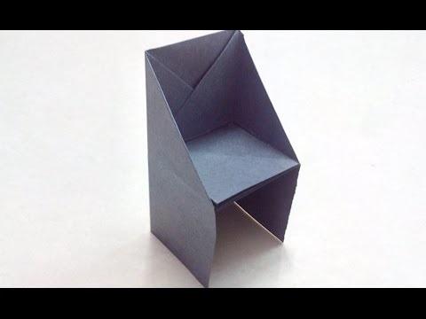 оригами из бумаги для кукол 002