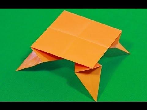 оригами из бумаги для кукол 003