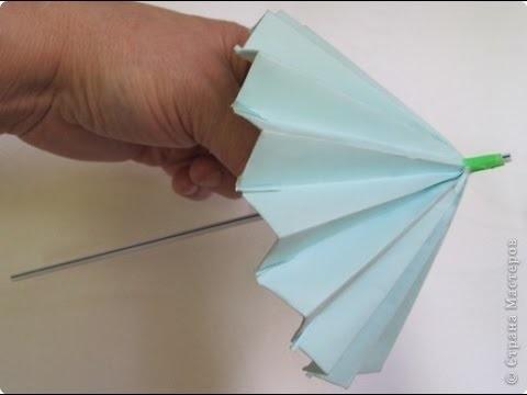 оригами из бумаги для кукол 004