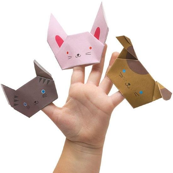 оригами из бумаги для кукол 005