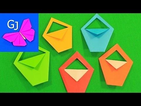 оригами из бумаги для кукол 008