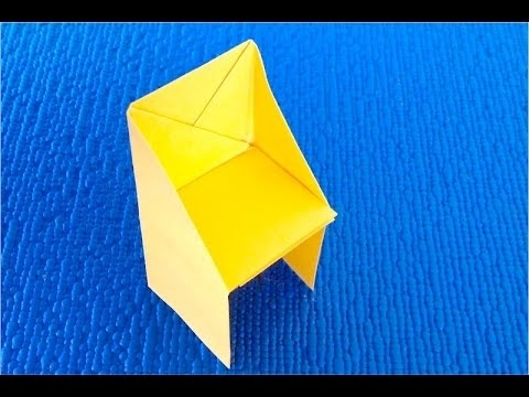 оригами из бумаги для кукол 011