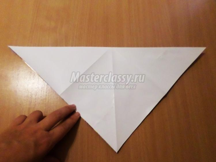 оригами из бумаги для кукол 014