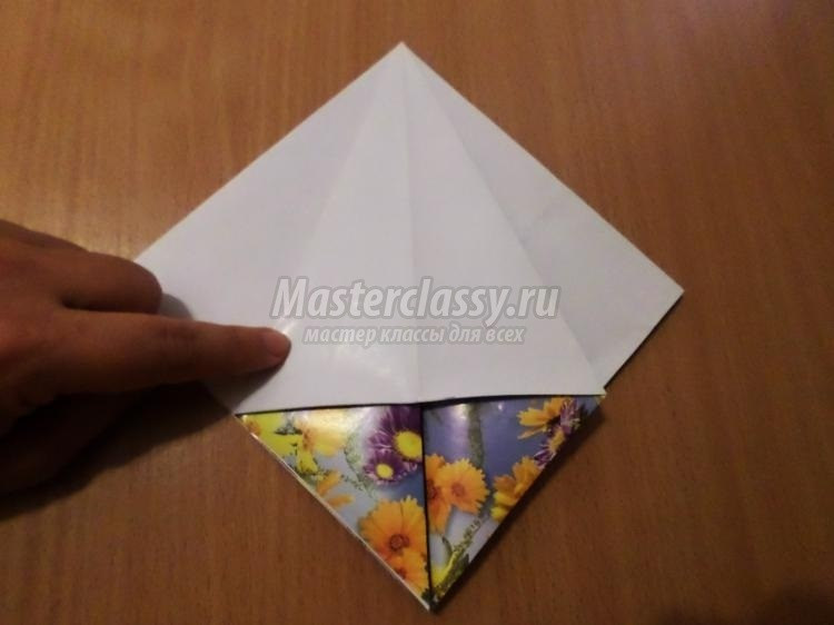 оригами из бумаги для кукол 015