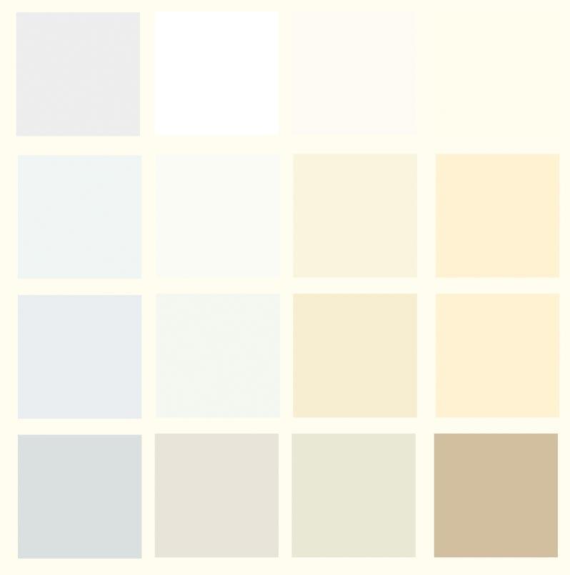 оттенки белого цвета палитра 002
