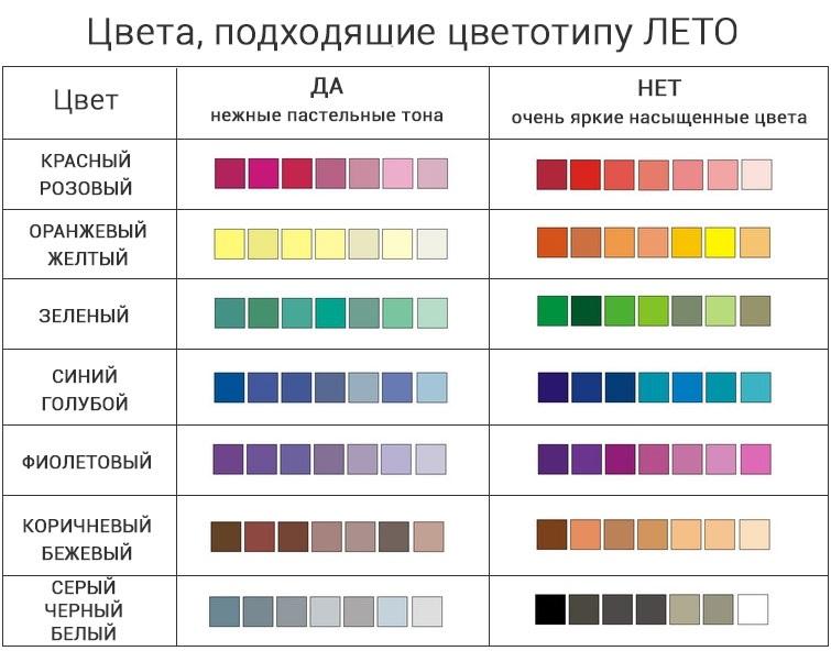 оттенки белого цвета палитра 021