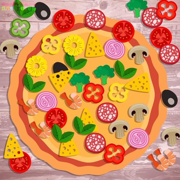 пицца картинки для поделок какие самые
