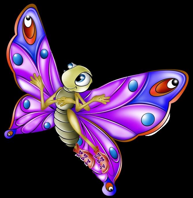 Картинки из мультик ребенок и бабочка