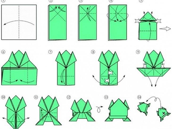 прикольные оригами 008