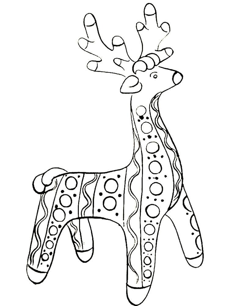рисунки филимоновских игрушек карандашом спб