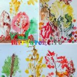 Рисуем осень акварелью поэтапно — картинки
