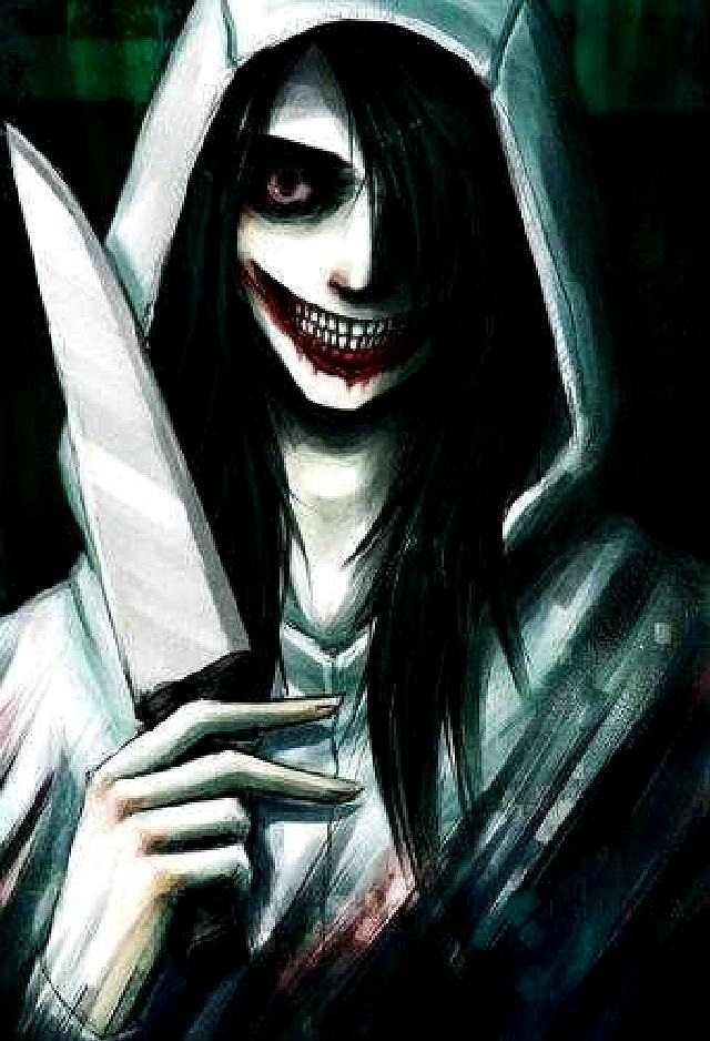 рисунки джеффа убийцы 001