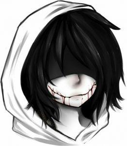 рисунки джеффа убийцы 008