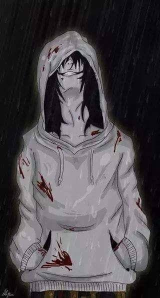 рисунки джеффа убийцы 014