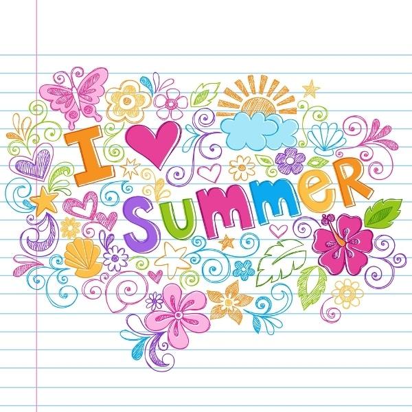 рисунки лето для срисовки 022