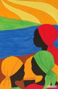 рисунок африка 016