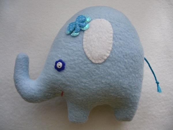 слон выкройка своими руками 012