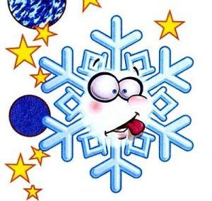 смайл снежинка рисунок для детей 008