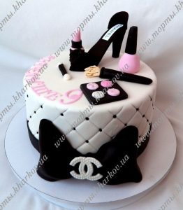 торты на день рождения девочке 15 лет 017