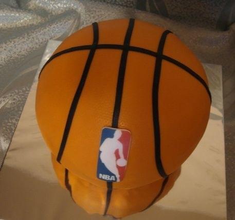 торт в форме баскетбола 017