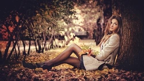 фотосессии в лесу осенью 002
