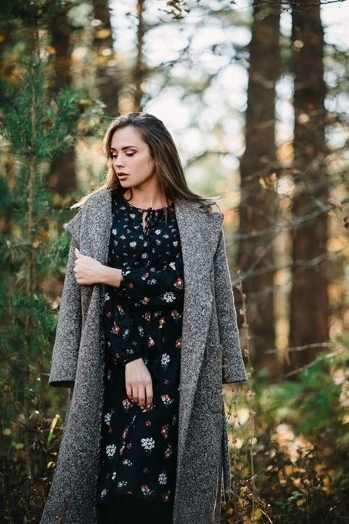 фотосессии в лесу осенью 013