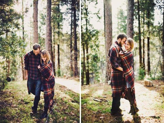 фотосессии в лесу осенью 014